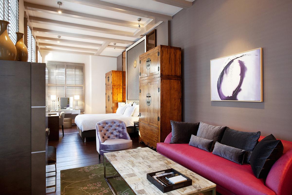 Amsterdamin tyylikkäimmät hotellit panostavat laatuun.