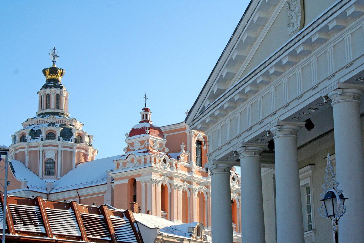 Kirkko Vilnassa