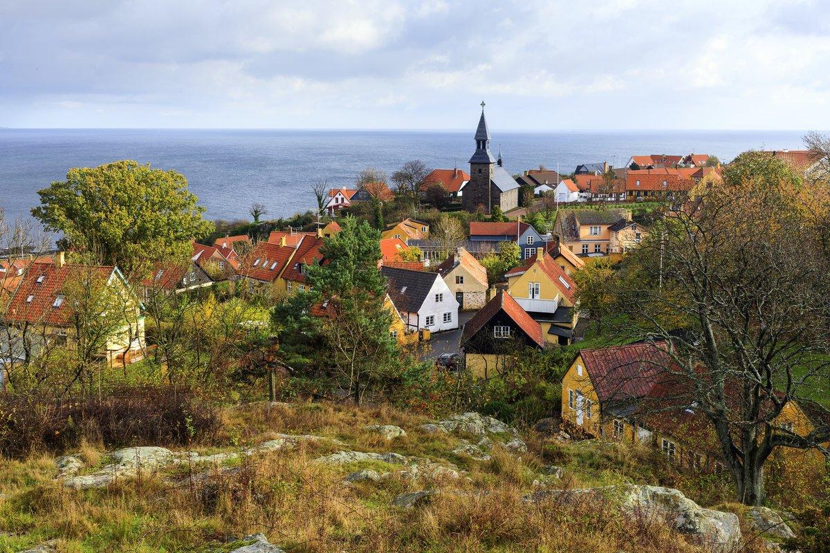 Kalastajakylä Gudhjem