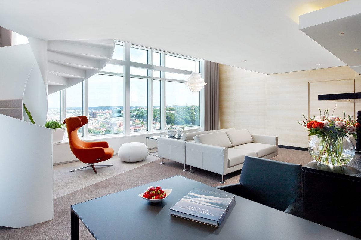 Hotelli Upper house kuuluu ehdottomasti Göteborgin tyylikkäimmät hotellit -kategoriaan