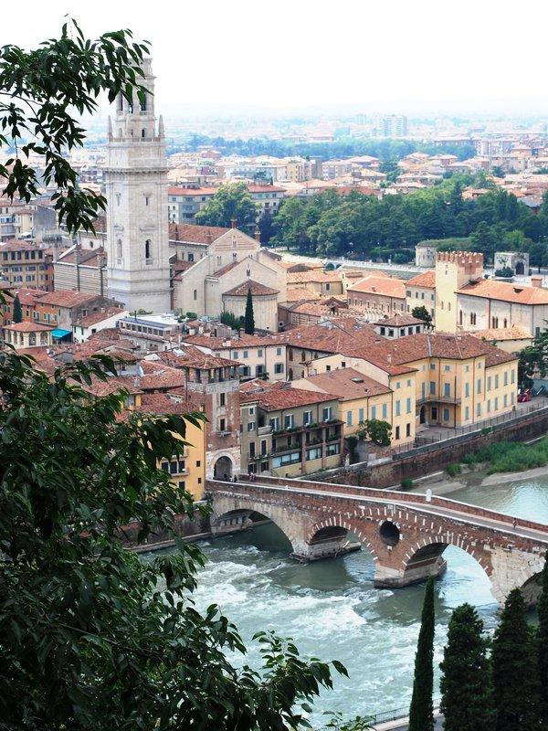 Näkymä Veronaan