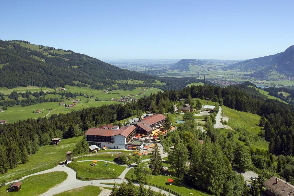 Allgauer Berghof Luftfoto