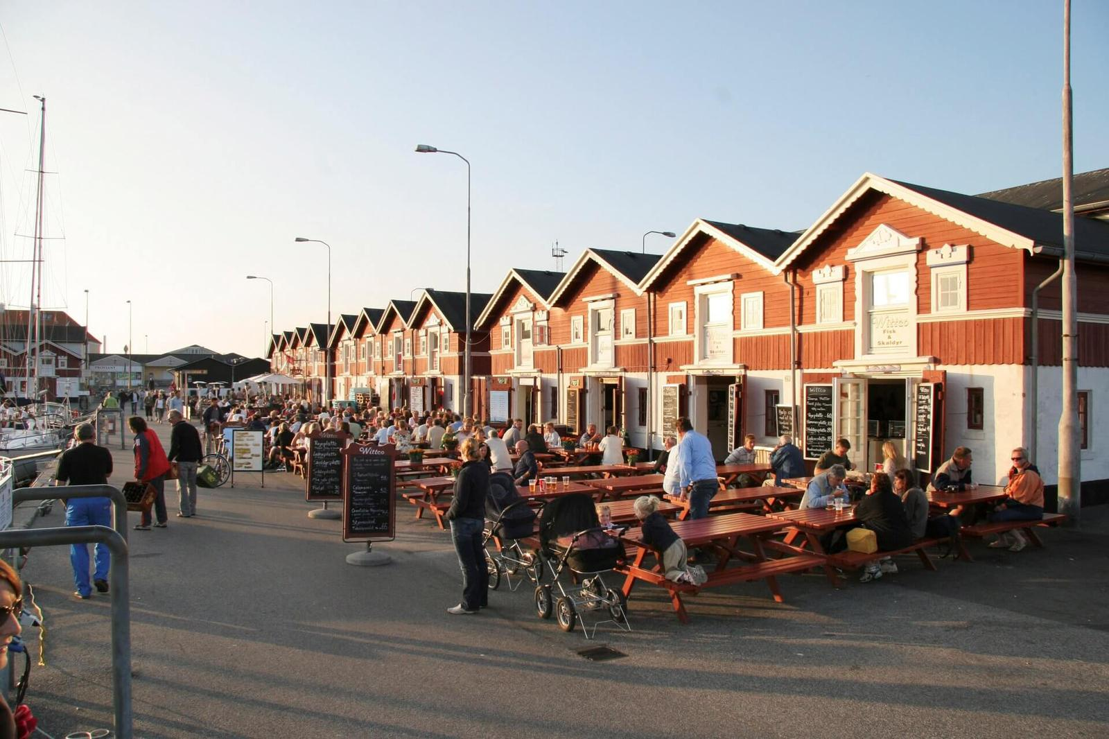 Skagen Havn og Pakhuse