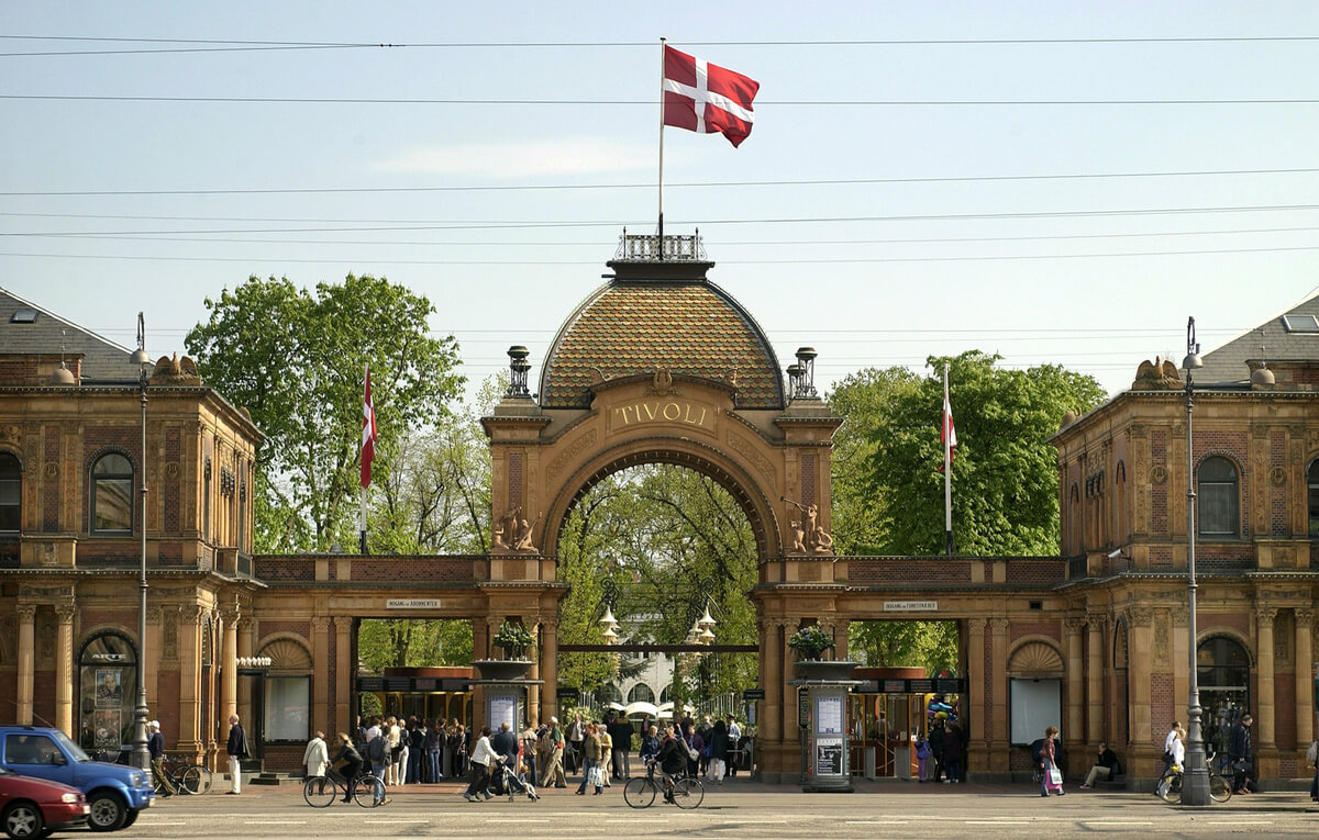Tivoli København Hovedindgang