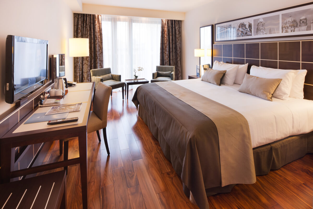 eurostars-berlin-hotelværelse
