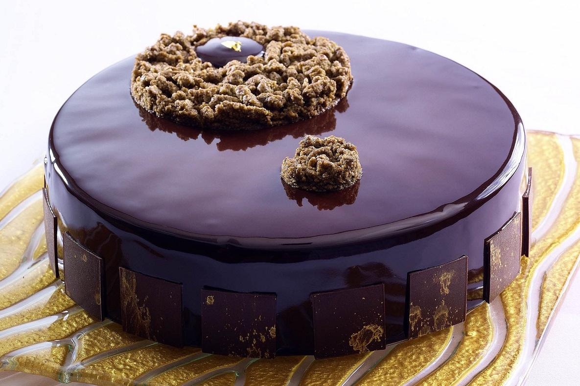 Earl grey tea chocolate cake伯爵茶朱古力餅