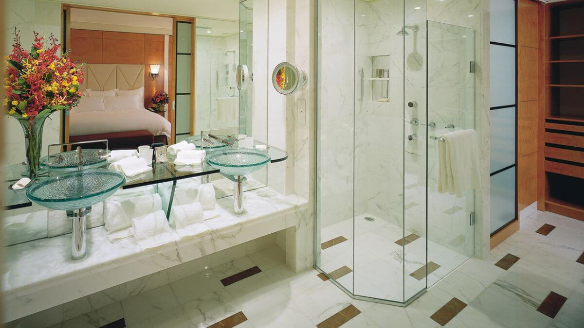 Bathroom at the Park Hyatt Melbourne