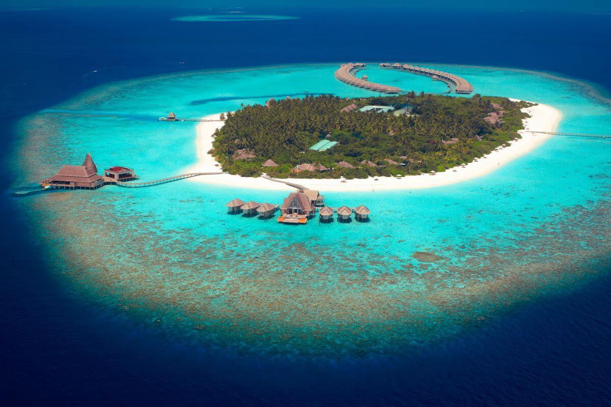 Anantara Kihavah – Baa Atoll-aerial