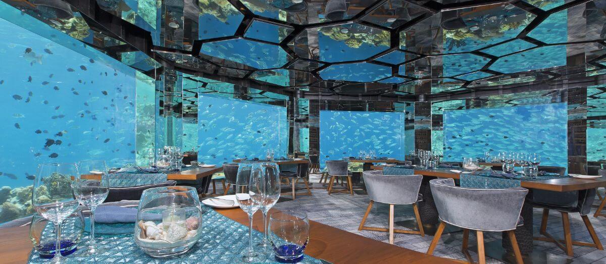Anantara Kihavah – Baa Atoll-restaurant