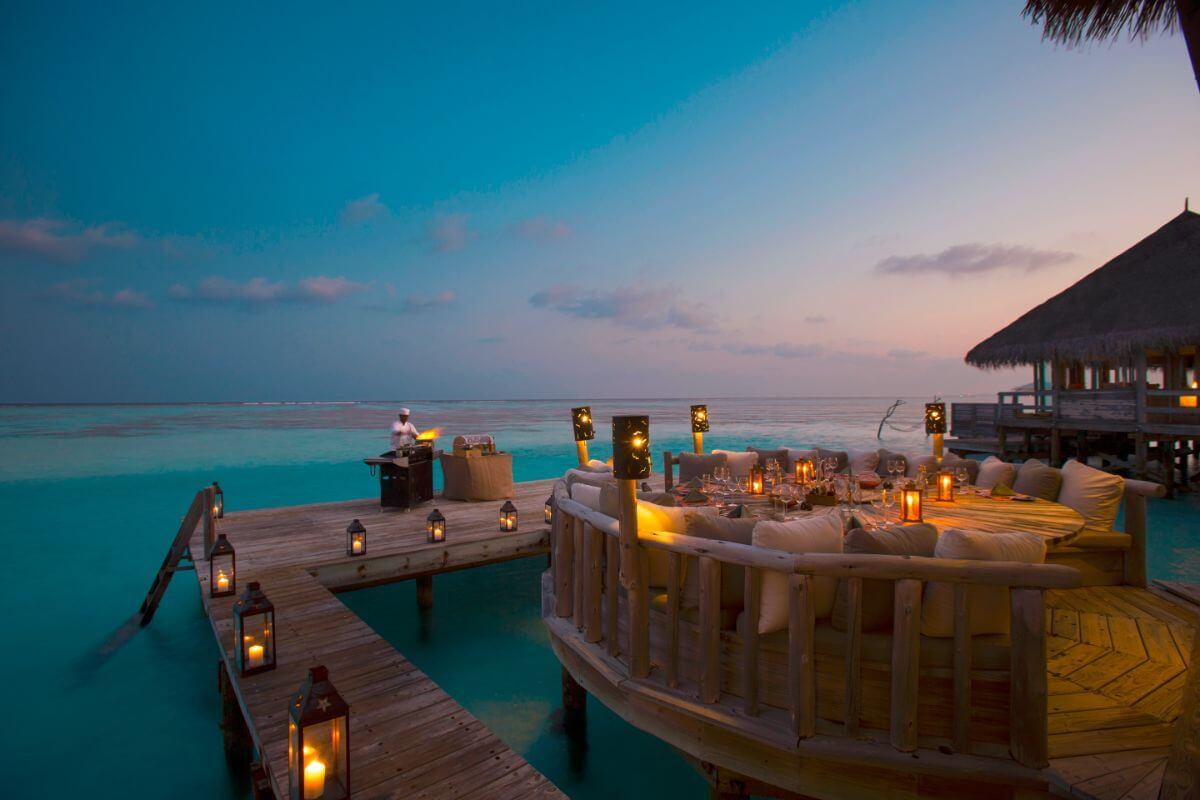 Gili Lankanfushi-restaurant
