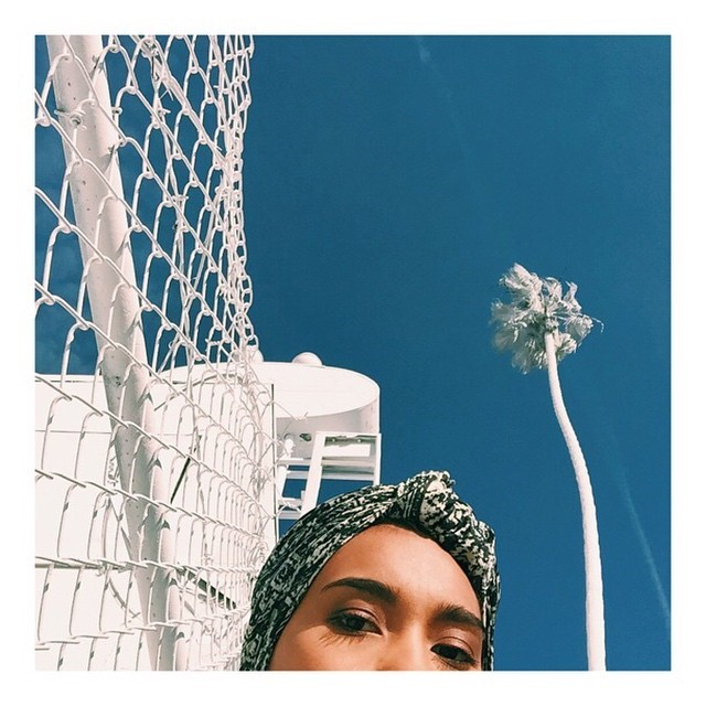 Yuna and the sky