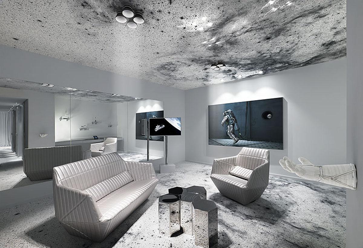 Kameha Grand Zurich Living Room