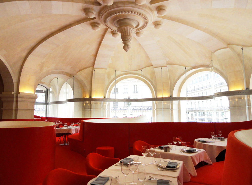 Mezzanine de l'Opéra Restaurant © Blanc6 - Wikicommons