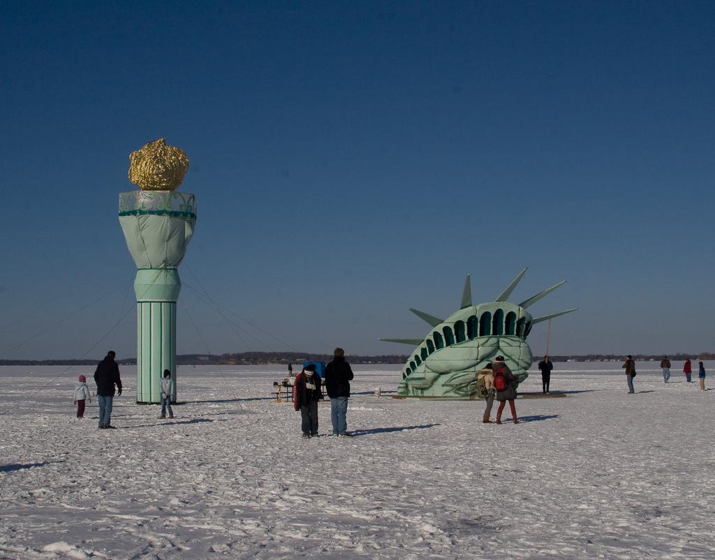 Souvent Histoire & Tourisme : La création de la Statue de la Liberté - Room5 DF79