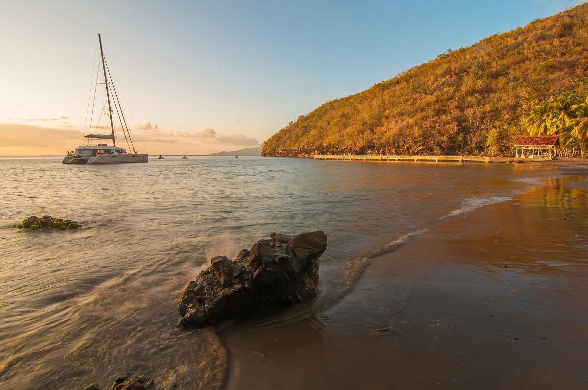 Plage d'Anse Noire - Martinique