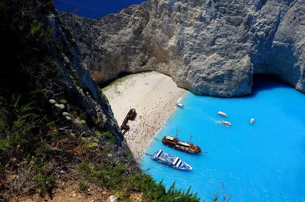 Plage de la Baie du Naufrage - Grèce