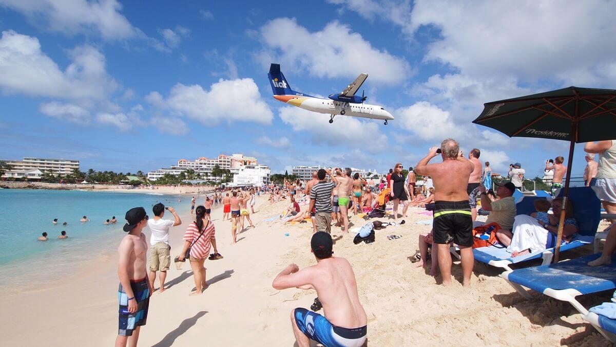 Plage de Maho Beach - St Martin