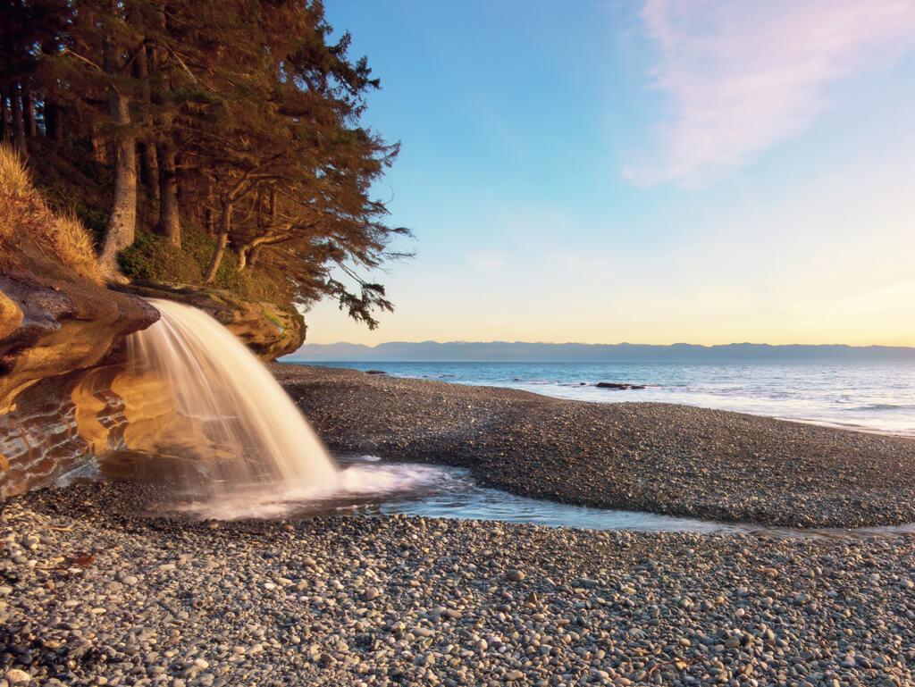 Plage de Sand Cut Beach - Vancouver