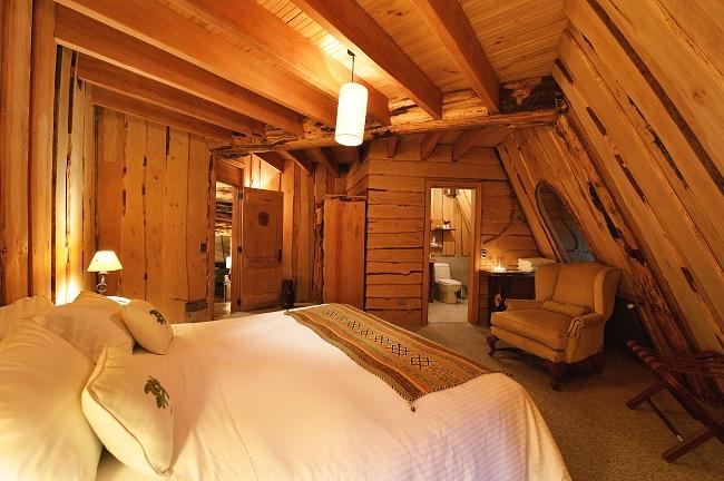 Suite de l'hôtel Montaña Magica