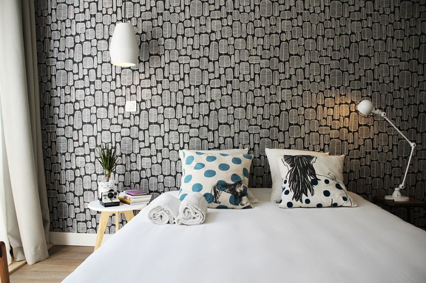 Chambre lit double - Slo Living Hostel - Lyon