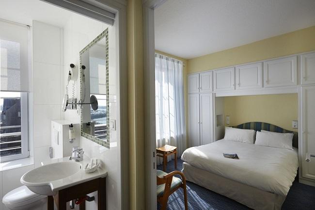 Chambre - Hôtel Best Western Grand Hôtel Talabardon - Roscoff