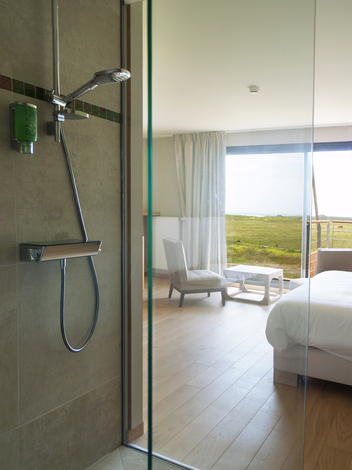 Salle de bain - Eco-hôtel Le Château de sable - Bretagne