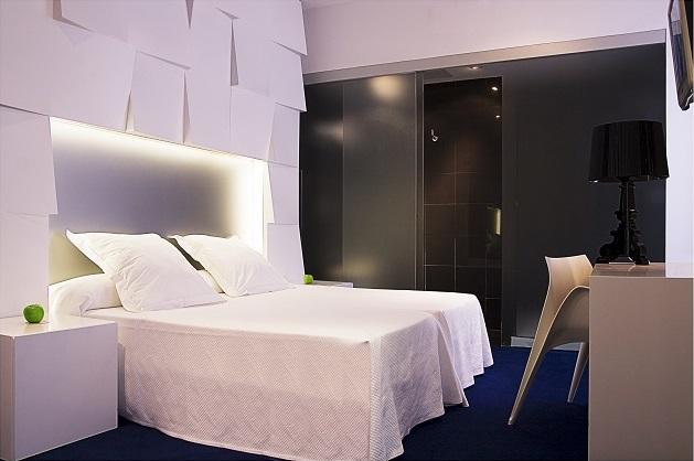 Chambre de l'hôtel Room Mate Mario de Madrid