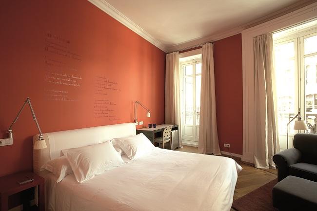 Chambre de l'hôtel de las Letras à Madrid