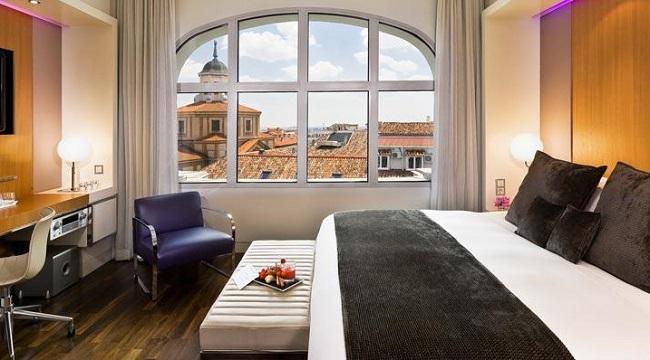 Chambre du ME Madrid