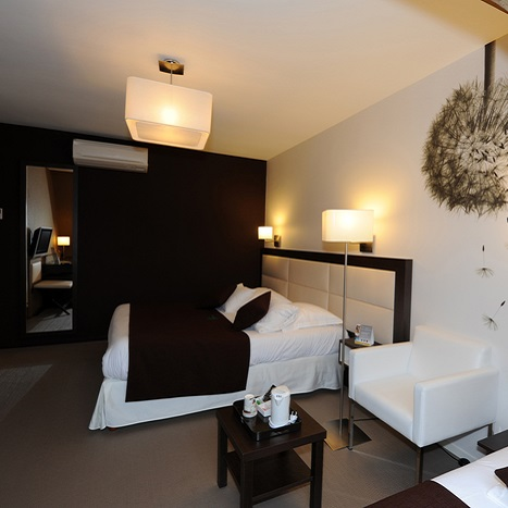 Chambre - Eco-hôtel La Marébaudière - Vannes