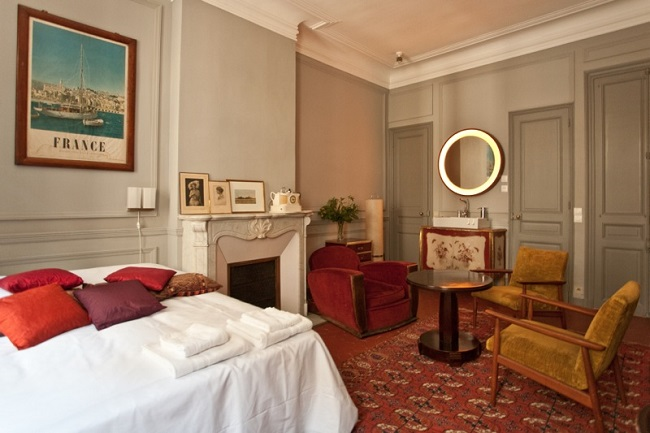 Chambre Pension Edelweiss - Marseille