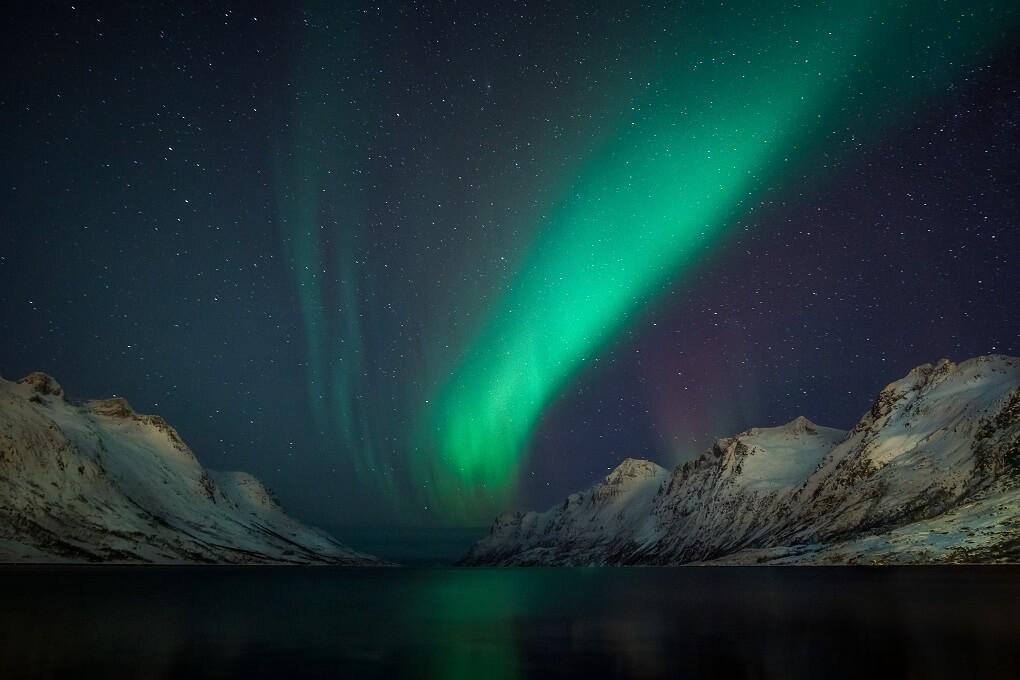 Aurore Boréale à Tromso en Norvège