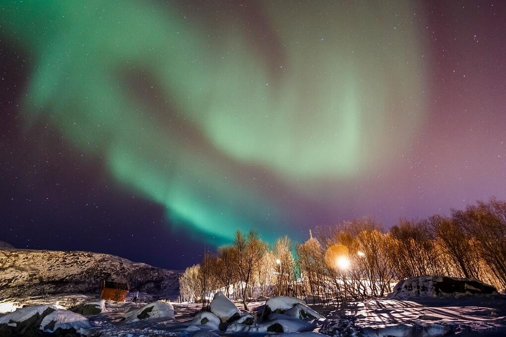 Aurore Boréale en Norvège à Tromso