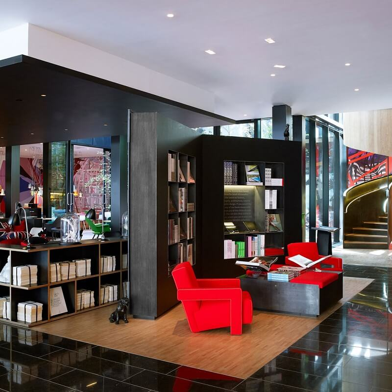 Bibliothèque CitizenM London Bankside - Londres