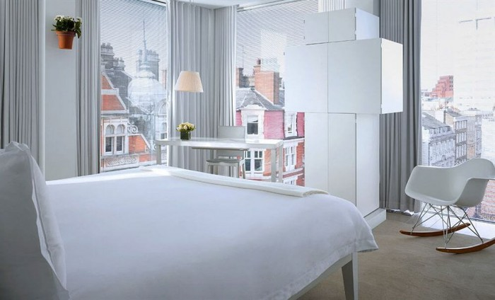 Design addicts ces h tels de londres sont faits pour vous for Hotel cube londres