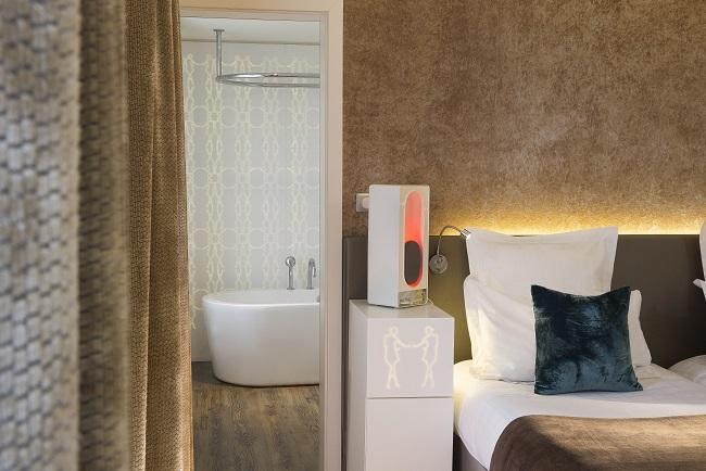 Hôtel Gabriel Paris - Chambre et salle de bain