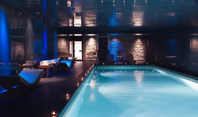 Espace spa et piscine - Hôtel Saint James Albany Paris