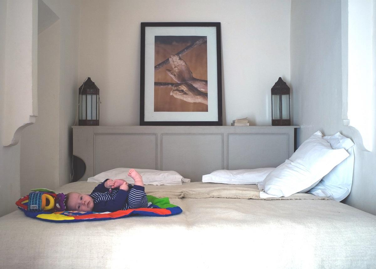 Bébé à l'hôtel