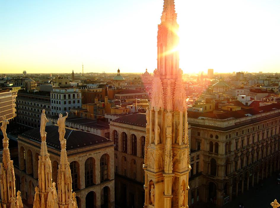 Toit du Duomo - Milan