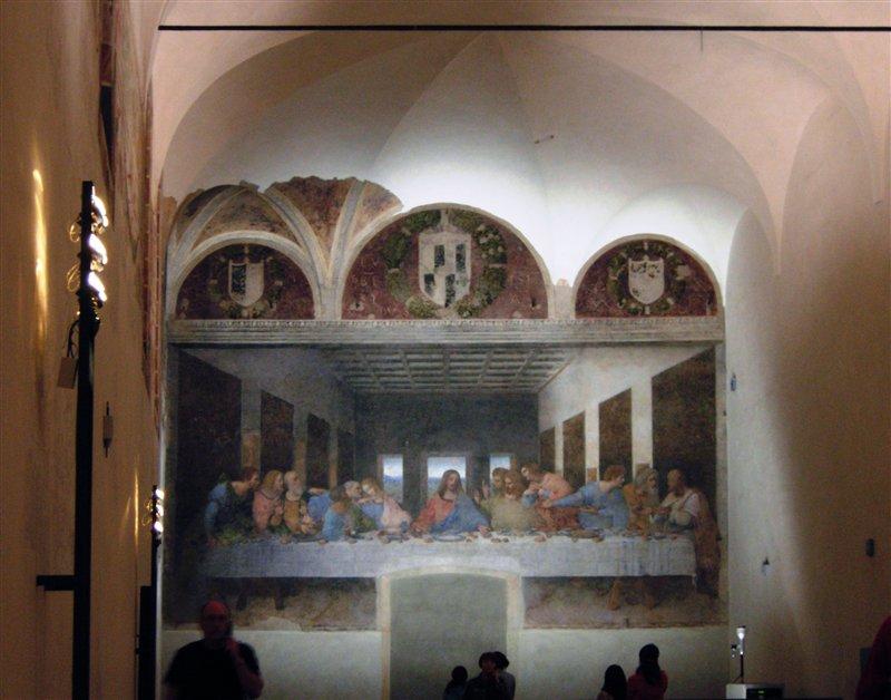 Fresque de La Cène - Milan