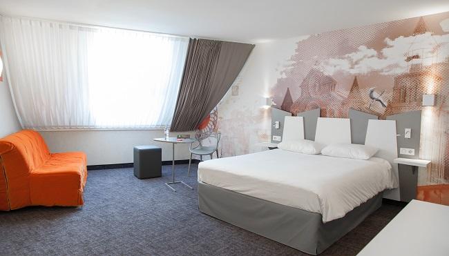 Chambre famille - Hôtel Ibis Styles Centre Poitiers
