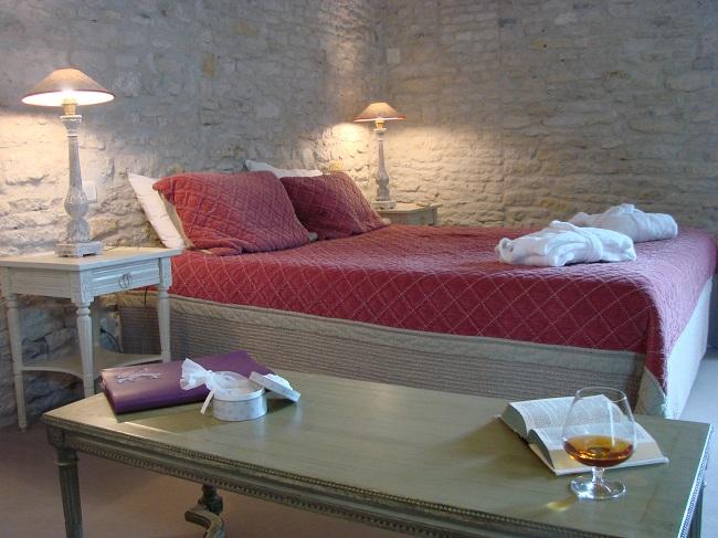 Chambre - Hôtel Les Jardins d'Aliénor - Le Château d'Oléron