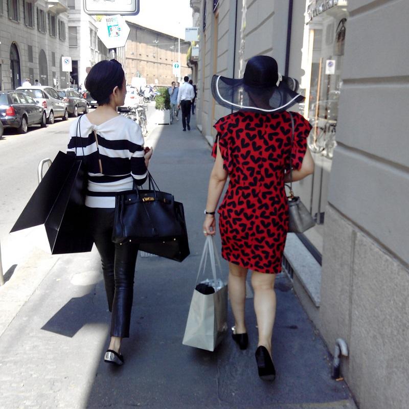 Magasins de Milan