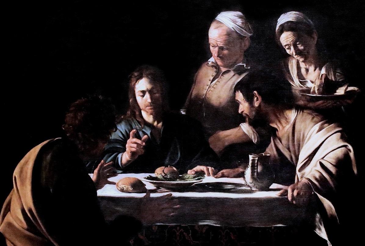 Peinture Le Caravage - Pinacoteca de Brera - Milan