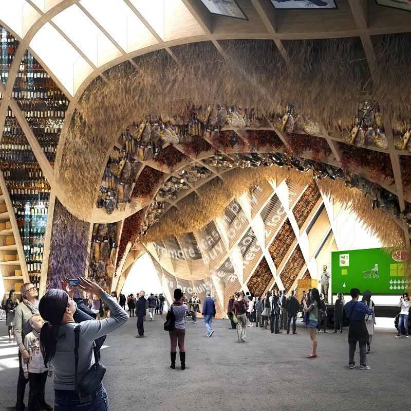 Pavillon francais - Exposition Universelle de Milan