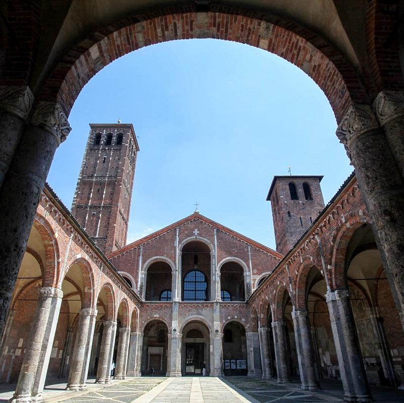 Basilique Sant'Ambrogio - Milan