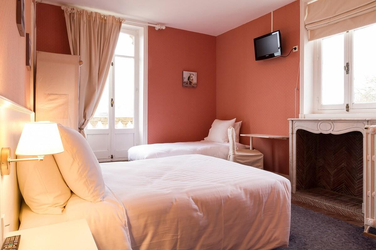 Chambre - Hôtel Les Villas d'Arromanches - Arromanches Les Bains