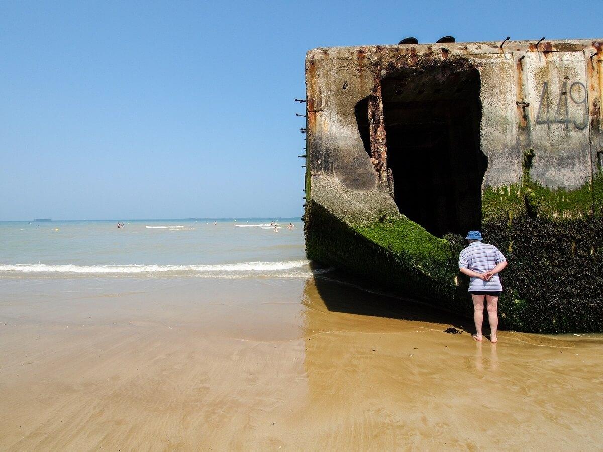 Vestiges Gold Beach - Normandie