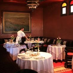 Salle à manger du Restaurant Al Fassia