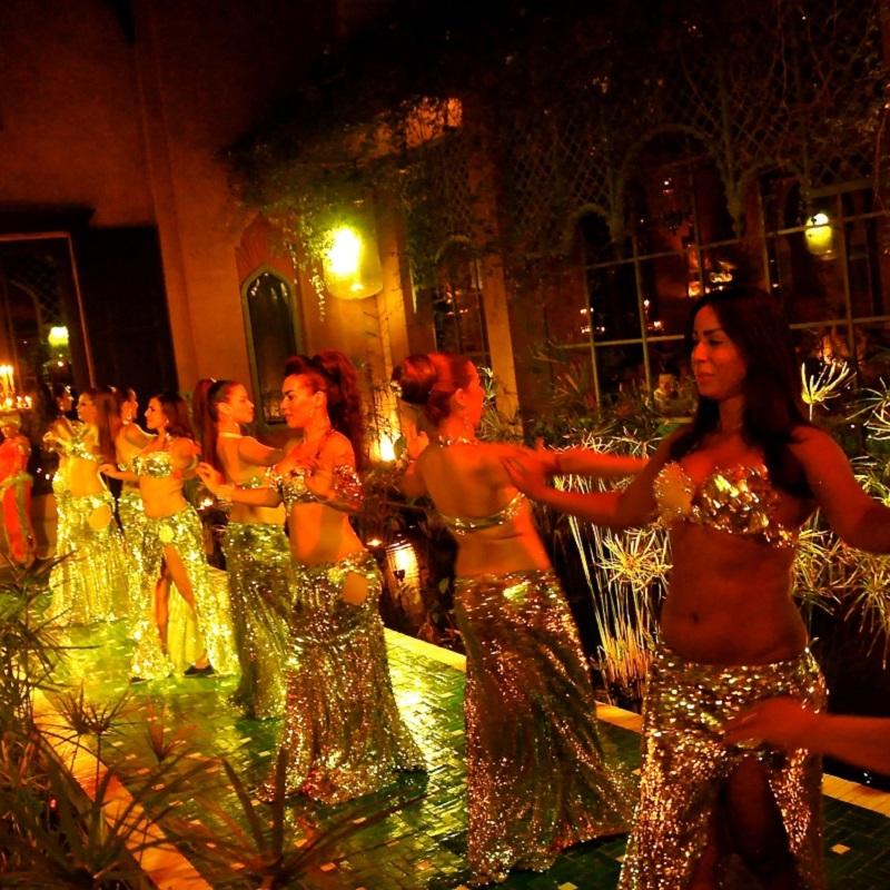 Danseuses - Restaurant Jad Mahal - Marrakech